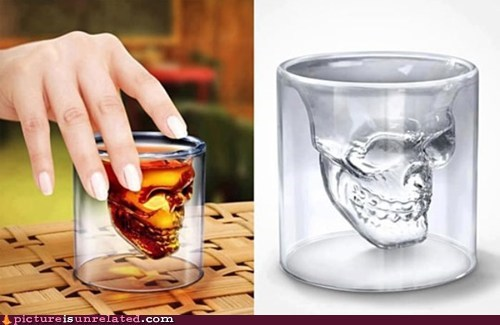 shut up and my money shot glasses skull awesome classic