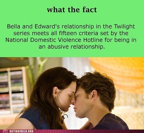 abusive relationship bella edward not surprised twilight