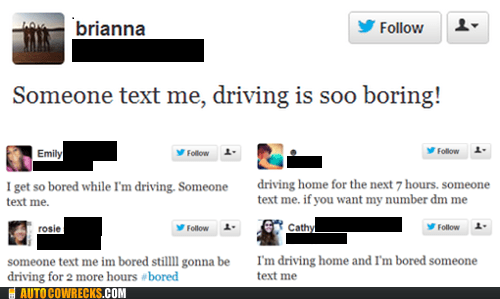 dangerous texting and driving tweeting it - 6559193856
