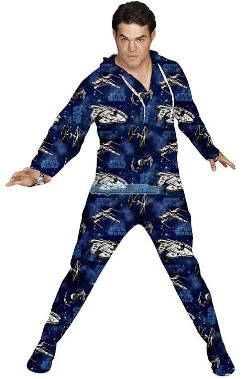 dark side Jedis onesie pajamas spaceships star wars - 6559569152