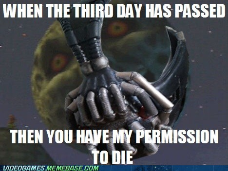 bane,majoras mask,meme,permission to die,zelda