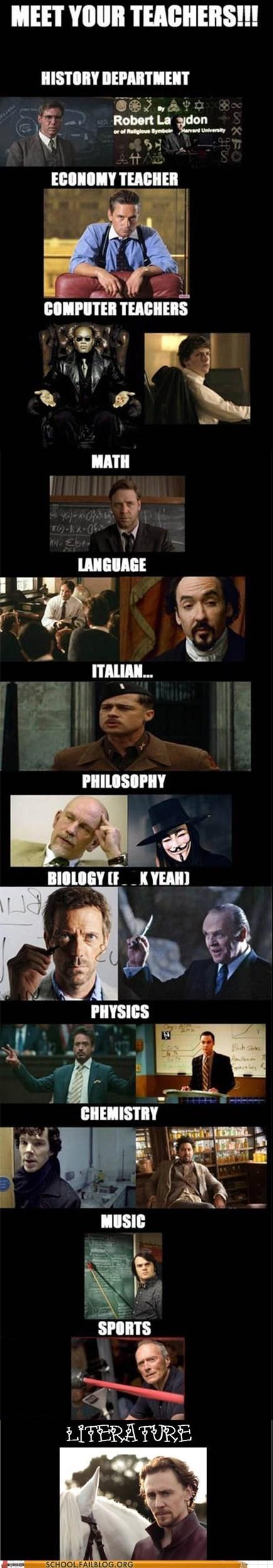 best faculty ever fictional teachers teachers - 6559785216