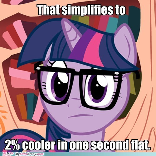 fraction math twenty percent cooler twilight sparkle - 6560002048