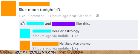 Astronomy,blue moon,facebook