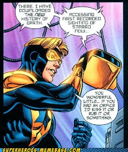 booster gold gross off the page robot love - 6560264192