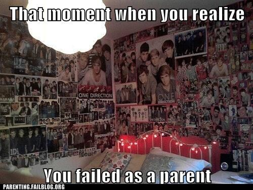 one direction shrine teenagers-room