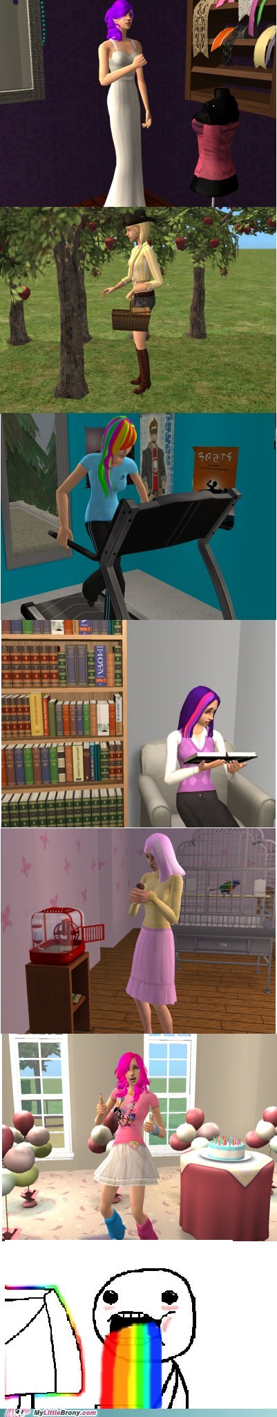 mane 6 PC sims 2 where-can-i-dl-this - 6560715776