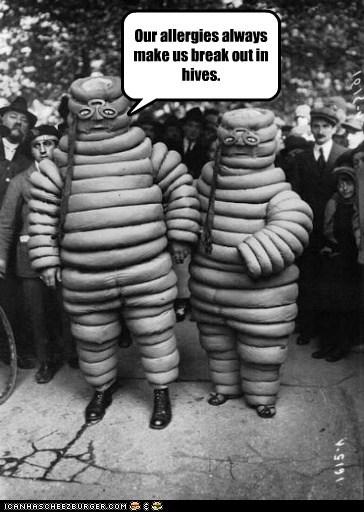 costume masks Michelin man weird - 6560814080