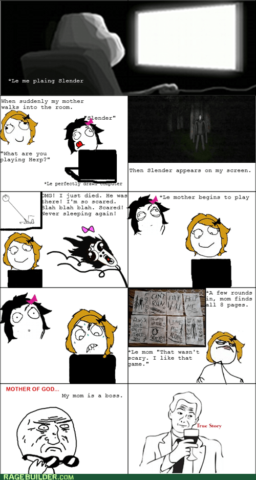mother of god omg run parenting slender - 6561440512
