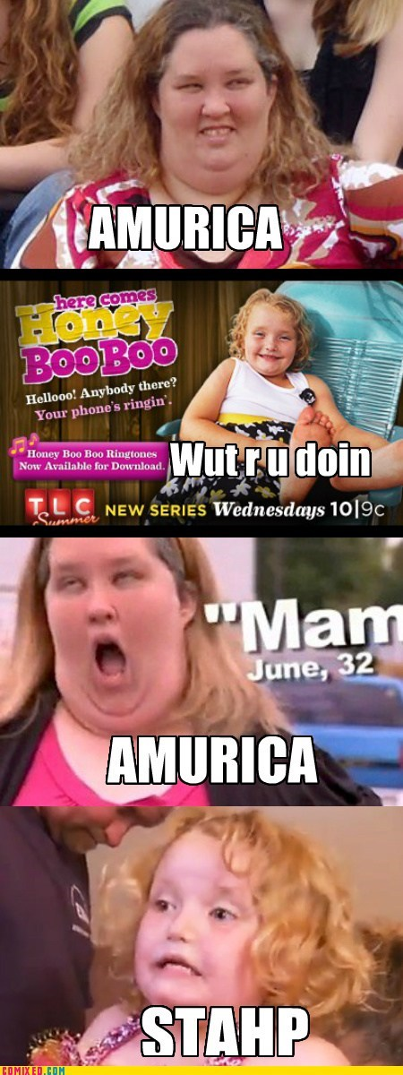 here comes honey boo boo staph TV