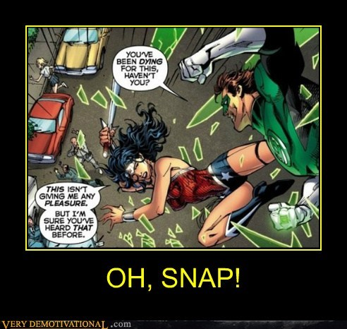 fight Green lantern witty wonder woman - 6561476352