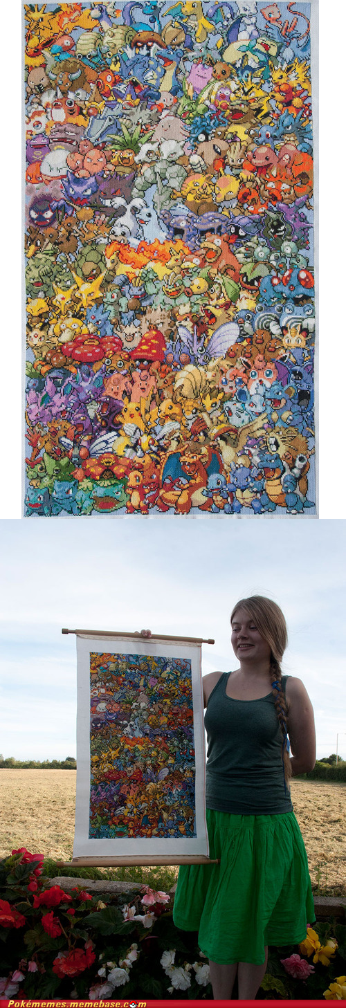 awesome,first gen,IRL,mural,stitch