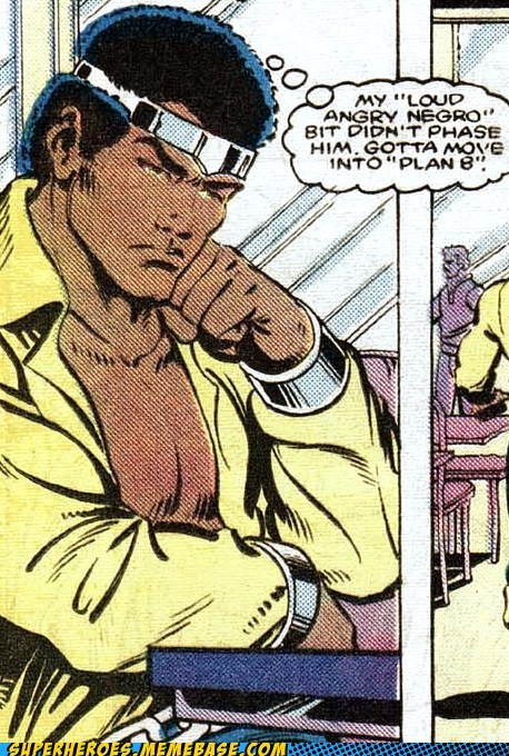 Luke Cage,off the page,problems,racist