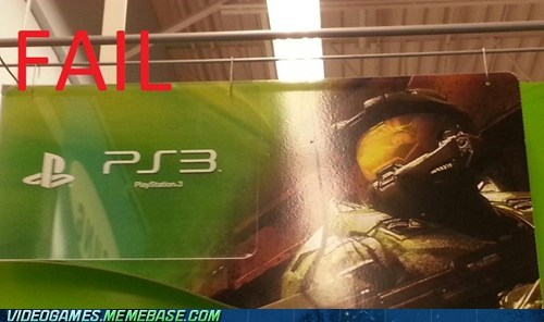 display FAIL halo ps3