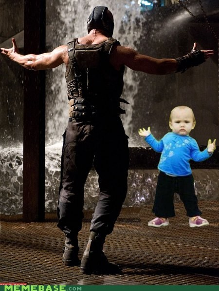 bane come at me Dark Knight Rises kid - 6562215168
