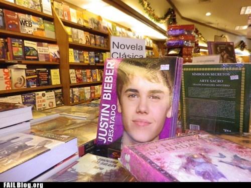 book store books classic justin bieber - 6562666496