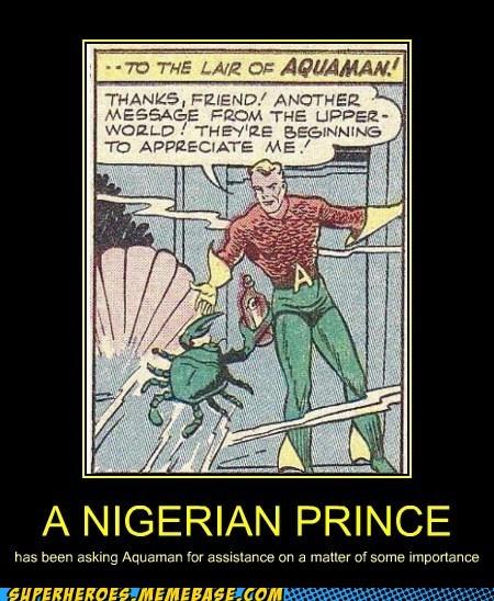 aquaman cash fast mail nigerian prince - 6562689536