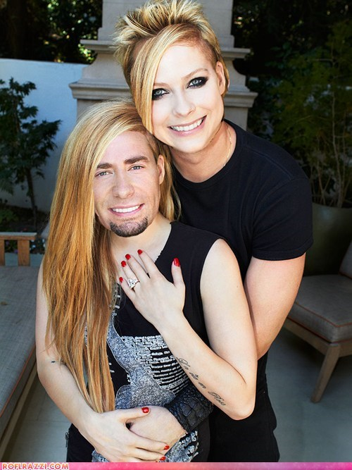 avril lavigne celeb chad kroeger face swap funny Music nickelback - 6562724864