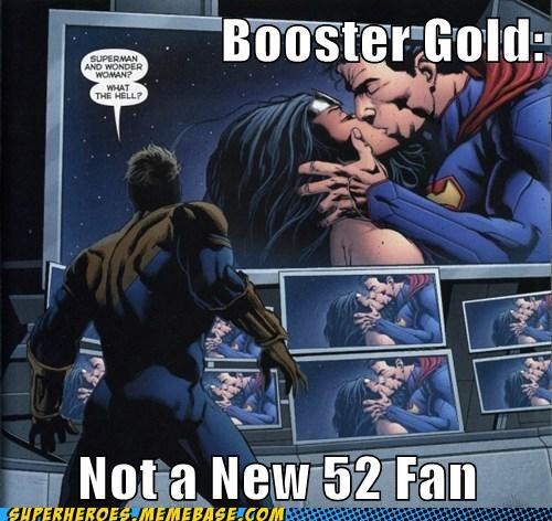 booster gold eww new 52 superman wonderwoman - 6562941696