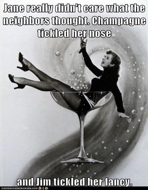 champagne drunk glass woman - 6562988544