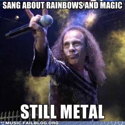 magic metal rainbows ronnie james dio - 6563092736
