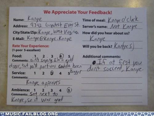 feedback,kanye west