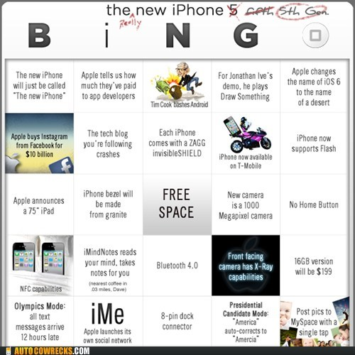 bingo,iphone 5,new iphone