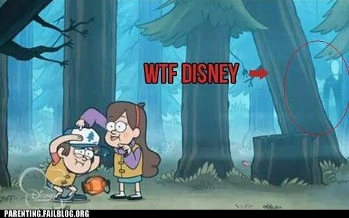 camping,cartoons,disney,slender man