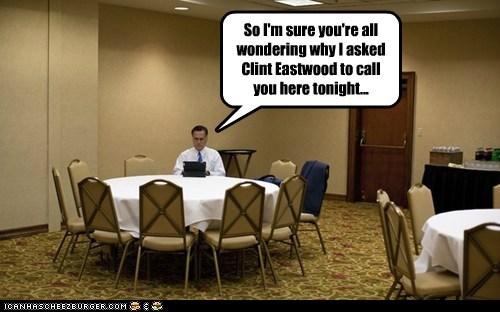 chair Clint Eastwood empty chair meeting Mitt Romney - 6563258624