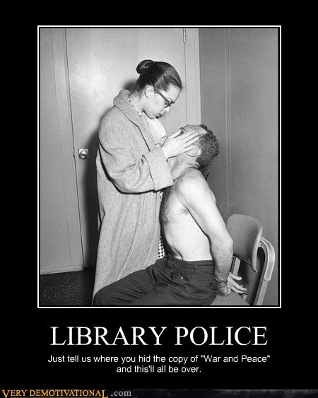 book library police war and peace - 6563351552