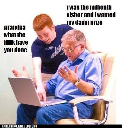 computers,old people and technology