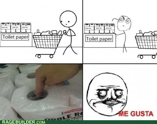 me gusta,shopping,toilet paper