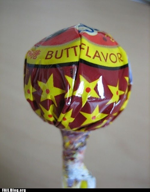 butt candy flavor lollipop whoops - 6563390976
