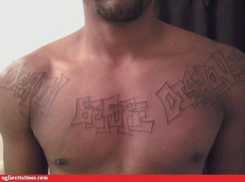 chest tattoos death before dishonor - 6563405568