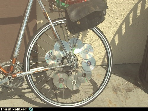 bike reflectors CD disc reflectors - 6563415040