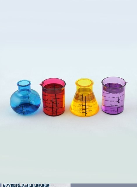 Chemistry shot glasses sloshed swag the awesomer - 6563458048