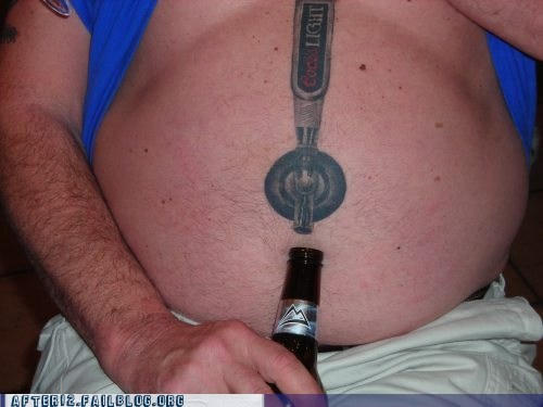 beer tap tattoo - 6563493632