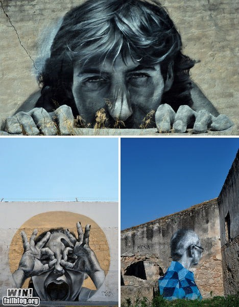 art graffiti hacked irl realism Street Art - 6563494912
