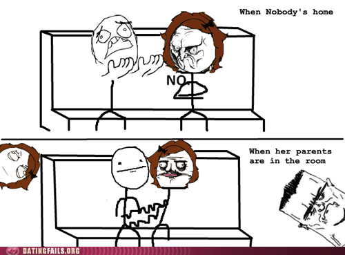 confused nobody home parents in the room Rage Comics what do you want - 6563500032