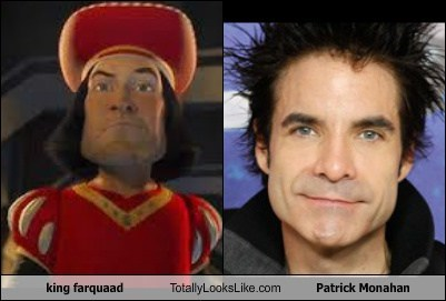 actor,funny,king farquaad,Music,patrick monahan,TLL