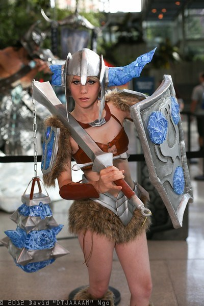 cosplay league of legends sejuani video games - 6563576832