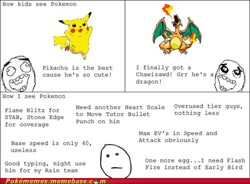 battling,deep stuff,kids,Pokémon,rage comic,strategy