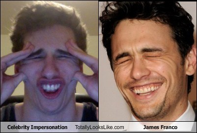 actor funny impersonation James Franco TLL - 6563794176