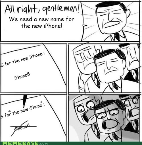 iphone 5,names,new ipad,the new iphone