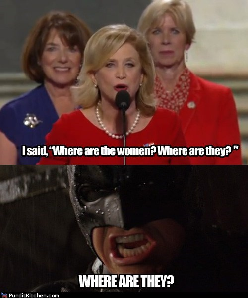 batman christian bale dnc where is it women yelling - 6563917056