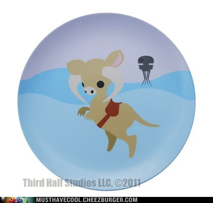 cute Movie plate star wars tauntaun