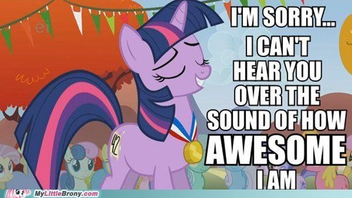 awesome brohoof twilight sparkle win at life - 6564167424