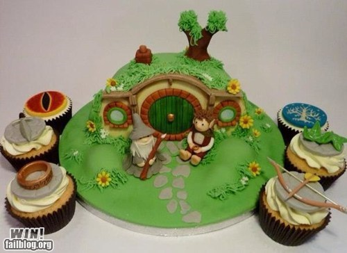 baking,dessert,food,Lord of the Rings,nerdgasm