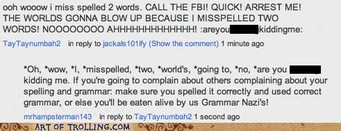 grammar nazis spelling youtube - 6564197376