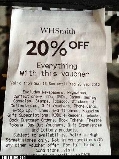 coupon discount exempt - 6564207616